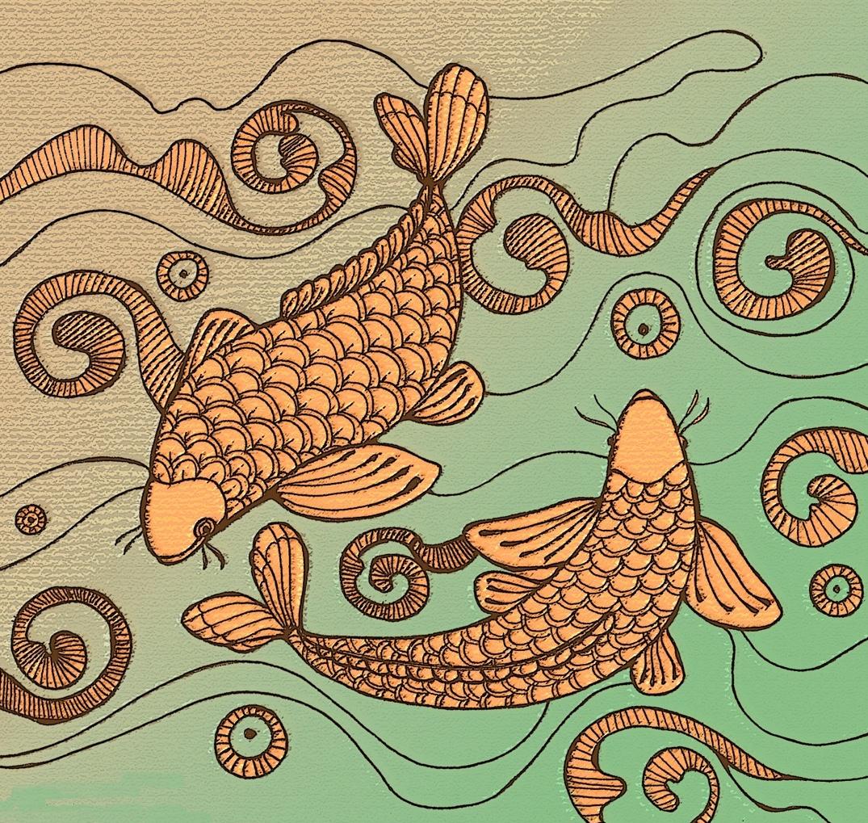 Koi Fish – Make Art…Magic Happens